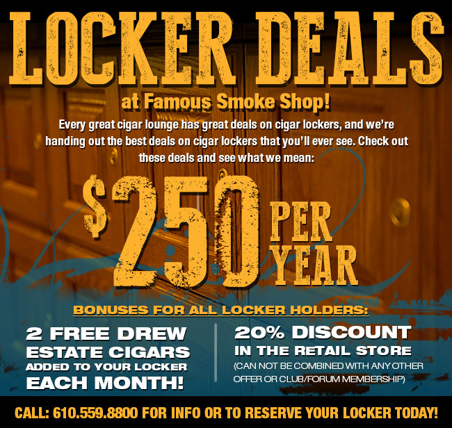 New Locker Deals
