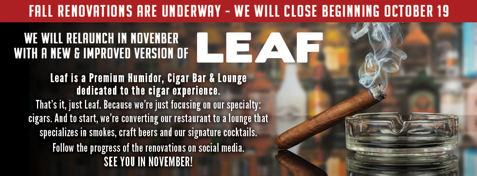 Leaf Relaunch 2020